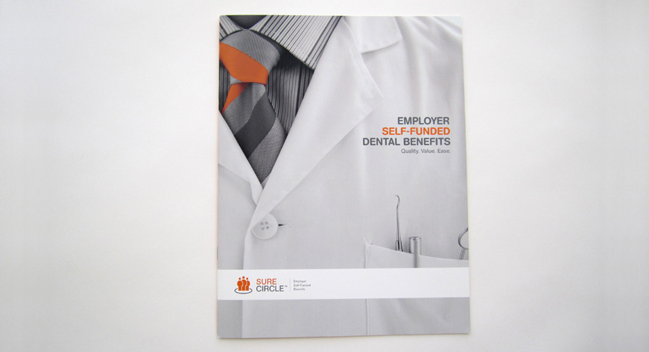 Brochure design: The cover